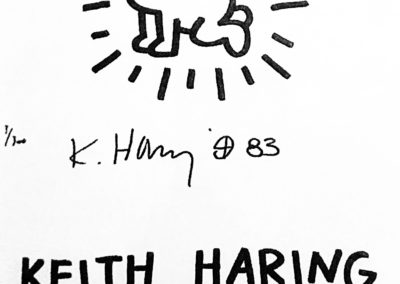 Keith HARING, Untitled (Lucio Amelio)